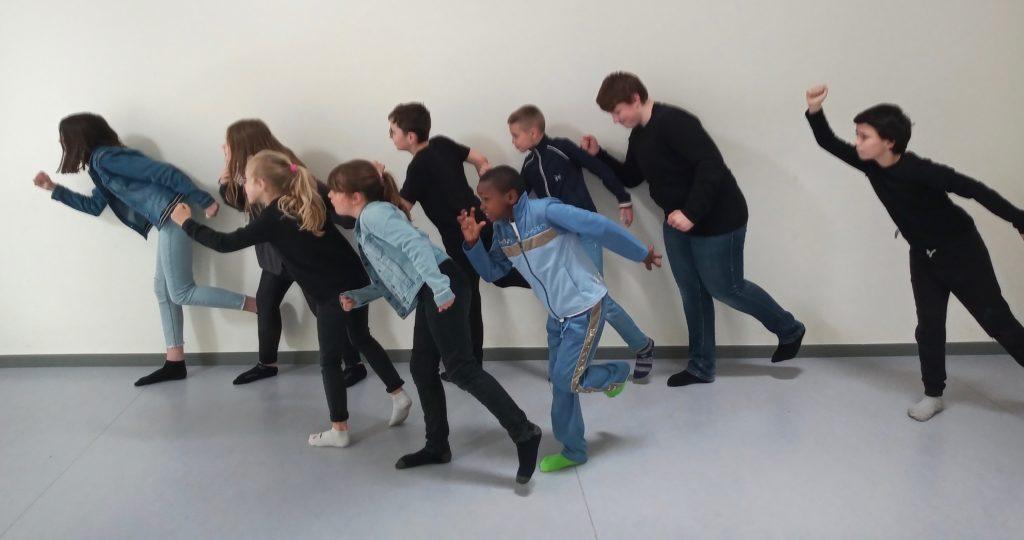 Atelier de création collective théâtrale